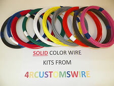 18 TXL HIGH TEMP AUTOMOTIVE POWER WIRE 11 SOLID COLORS 25 FEET EACH 275 FT TOTAL