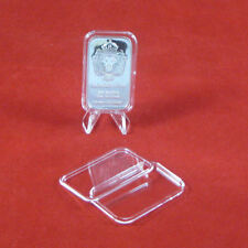 100 Air-Tite X6Deep 40mm Ring Coin Holder Capsules for 2 oz High Relief Coins