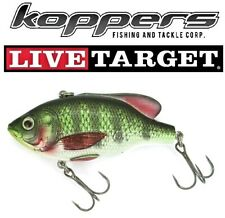 """Live Target Koppers Yearling Baitball 1 3//4/"""" Floating Diver Gold YCB45M814"""