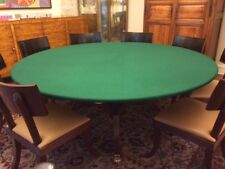 """fits 60/"""" table Poker table cover in Speed Lite pad + bag fs felt style"""