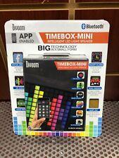 Divoom Timebox Mini Intelligent Bluetooth Speaker LED Pixel Art Display NEW NIB