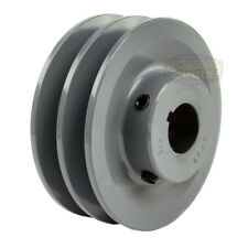 Cast Iron 1 Groove Uses P1 Bushing Browning 1P3V50 Split Taper Sheave 3V Belt