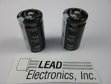 120uF 450V Nichicon LGU 105C Electrolytic Capacitor 30mm x 25mm