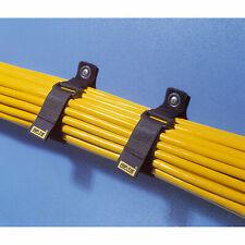 Rip-Tie RLH-065-010-BK-WO Rip-Lock Premium CableWrap w Write-On Pull Tab 10 Pack