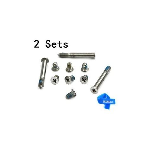 Unibody Bottom Case Cover Phillips Repair Tool Kit Notebook Laptop PC Computer Screw LIANG 2 Sets Replacement Screws with Screwdriver for MacBook Pro 13 15 17 A1278 A1286 A1297 2009-2012