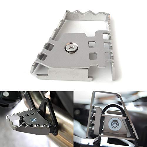 XuBa Rear Foot Brake Lever Pedal Extend Rear Brake Extension Peg Pad Extender for B.M.W R1200GS F800GS