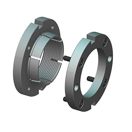 Replaces Fuji FU08SC Metric M40 x 1.5 Right-Hand Thread GUK8, Self-Locking Generic GUK40 Whittet-Higgins BMM-08 High Strength Bearhug Threaded Shaft /& Bearing Locknut