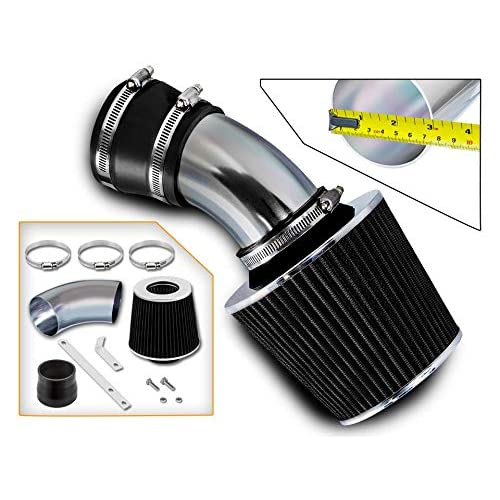 Rtunes Racing Short Ram Air Intake Kit Filter Combo BLACK Compatible For 99-04 Nissan Frontier//Xterra V6 /& Supercharged /…