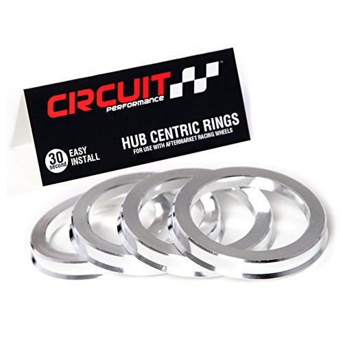 Hub to 67.1mm Wheel 4 NB-AERO Aluminum Hub Centric Rings 74.1mm   Hubcentric Center Ring 67.1mm to 74.1MM