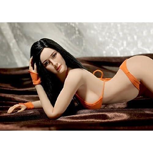 Phicen 1//6 Asia Female Seamless Body with Metal Skeleton Sun Tan Skin Tones PLMB2018-S27B Phicen Limited