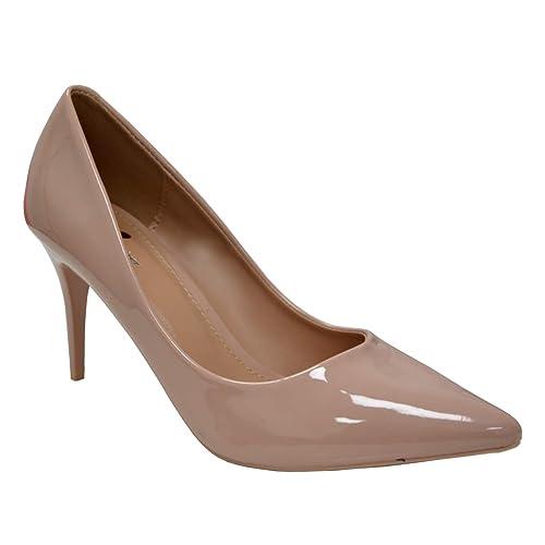 Pink Heels Low Heel Evening Shoes