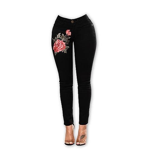 Buy Jeans De Mujer De Moda 2019 Colombianos Levanta Cola Online In Oman B07456c3sh
