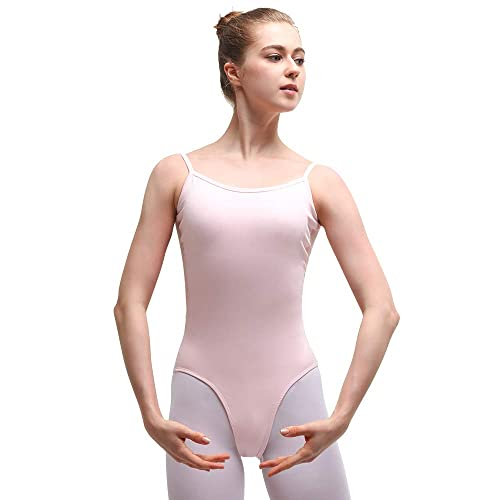 Bezioner Camisole Ballet Leotard Dance costumes Gymnastics Mesh Dancewear Bodysuit for Women Ladies