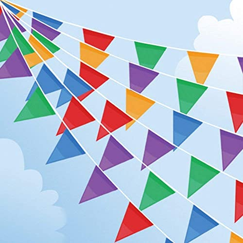 100m Bunting Banner Multicolor