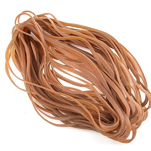 Coopay 60 Pieces Large Rubber Bands Trash Can Band Set Elastic Bands for Office