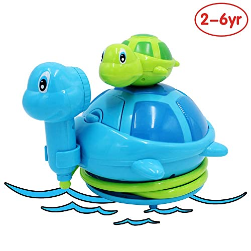 2 Pack Rain Cloud Tub Toy Magical Bath Toys Bathtub Toys for 1 2 3 Year Old Kids Bathtub time for Baby Toddlers Colorful Shower Head Fun Bath time Bath Toys Childrens Clockwork Water Toys