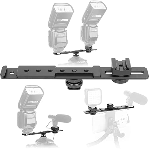 360 Degree Rotatable Multi-Functional Gimbal Extension Bracket for DJI Ronin S Pomya Extension Bracket,Aluminum Alloy Extension Mount Bracket