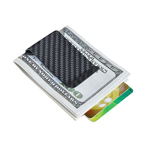 de700709850a Carbon fiber wallet Money Clip Credit Card holder-CL CARBONLIFE Clips for  men