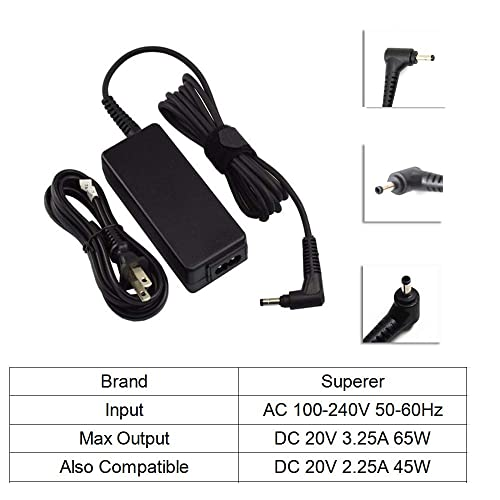 Buy UL Listed AC Charger for Lenovo Ideapad 2 in 1-14 81CW