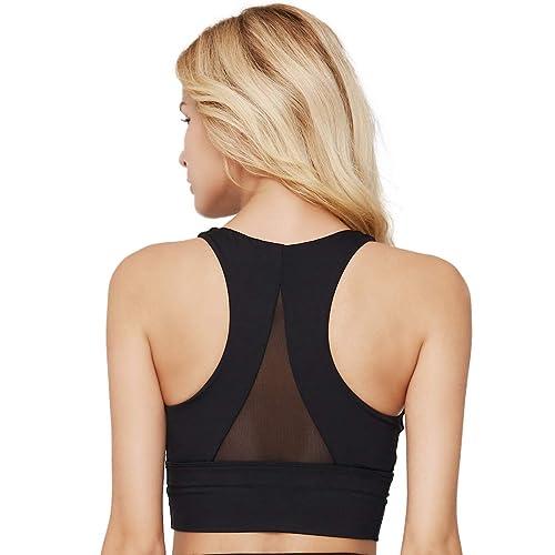 Womens Sports Bra Taurus Zodiac Logo Breathable Sleeveless Yoga Vest