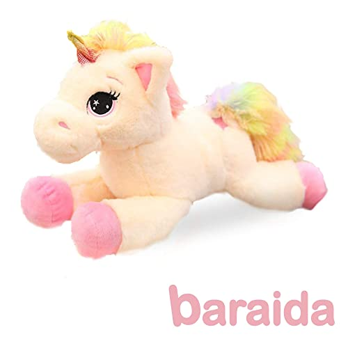 Gift Packaged Cute Unicorn Gifts Large 14 White and Baby Unicorn with Birth Certificates Two Unicorn Stuffed Animals Kayco Outlet