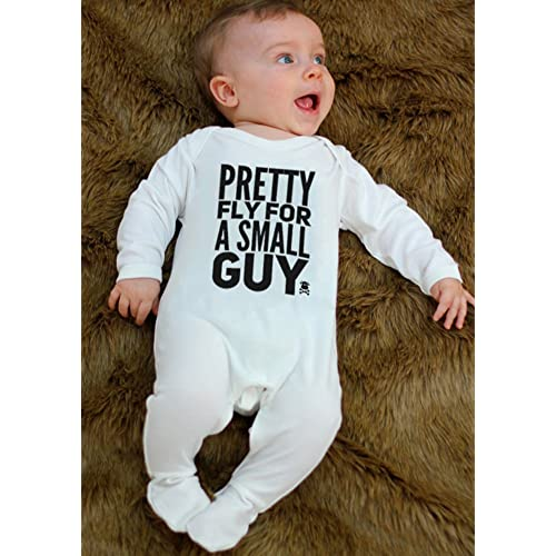 OFFSPRING Inspired Funny Boys Baby GrowPRETTY FLY FOR A.. Baby Vest