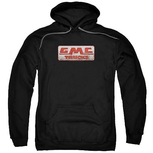 Gmc Mens Vintage Oval Logo Pullover Hoodie