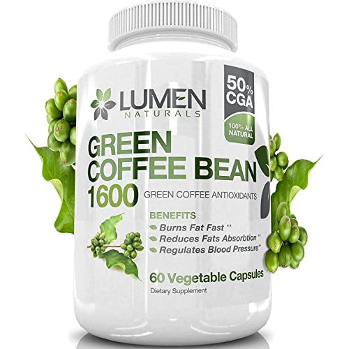 Pure Green Coffee Beans Extract Maximum Strength Fat Burner Diet
