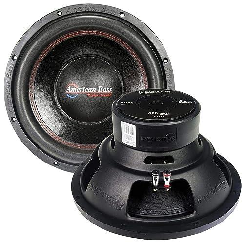 American Bass Usa Sl-104 600W Max 4Ω 10 Slim subwoofer