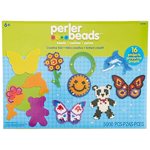 Perler Mini Beads Dog Craft Activity Kit 4004 pcs