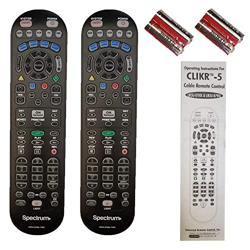 Cerepros Replacement Remote Control RC64 for Directv Satellite Cable TV DTV D11 D12 H20 H23 Receiver Compatible