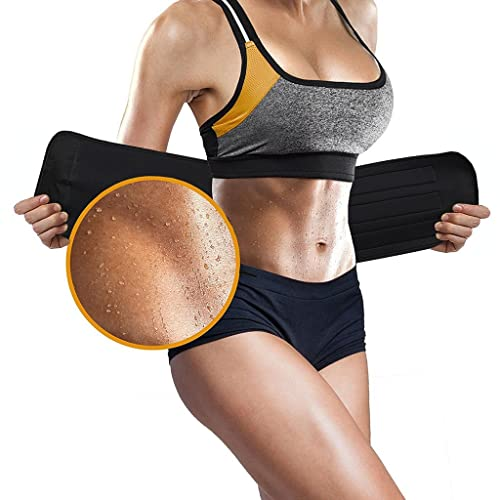 8439ab3ea5f Buy ASOONYUM Waist Trainer Trimmer Shaper for Women Men Weight Loss ...