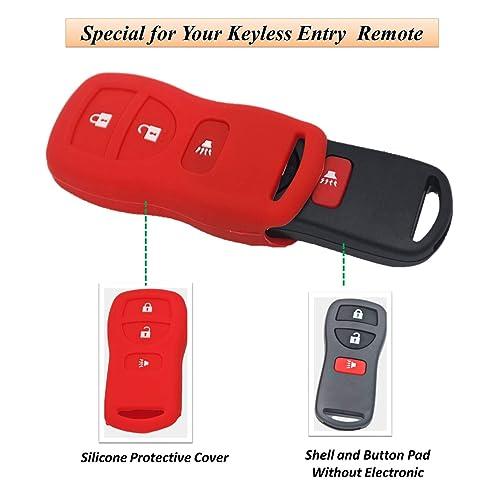 YITAMOTOR Key Fob Compatible for 2002-2013 Nissan Pathfinder Replacement for KBRASTU15 CWTWB1U733 Keyless Remote Control