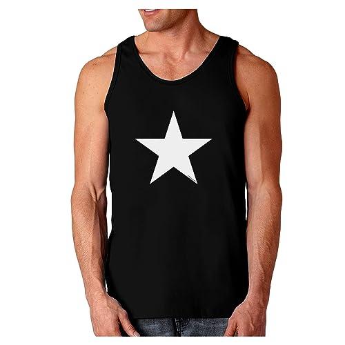 TooLoud Lebanon Flag Silhouette Muscle Shirt
