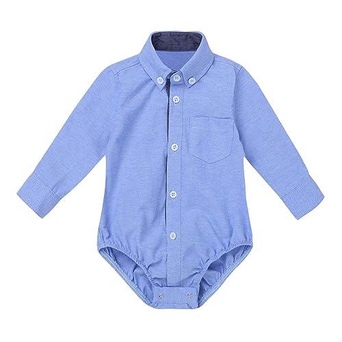 Moyikiss Studio Newborn Boys Gentleman Romper Outfit Plaid Short Sleeve Gentleman Baby Romper