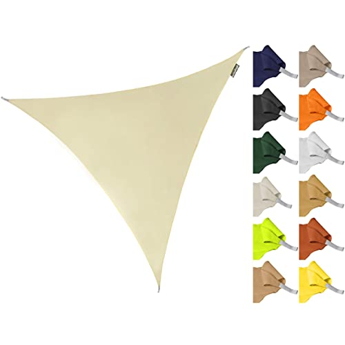 Light Sand Color Sun Shade Sail 185 GSM Gardens Swimming Pools Yosoo Health Gear Sun Shade Sail Rectangle 3m /× 4m 97/% UV Protection And 90/% Shading Rate Lawns for Outdoor Activities-Courtyards