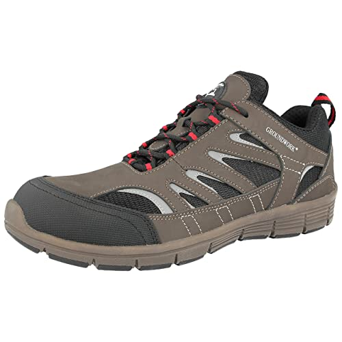 LADIES WOMENS GROUNDWORK STEEL TOE CAP SAFETY WORK SHOES TRAINERS BOOTS SIZE 3-8