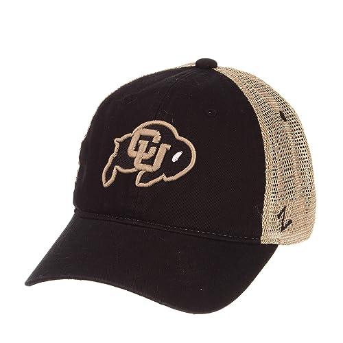 Black OSFM NCAA Zephyr Syracuse Orange Mens Strata Knit Hat