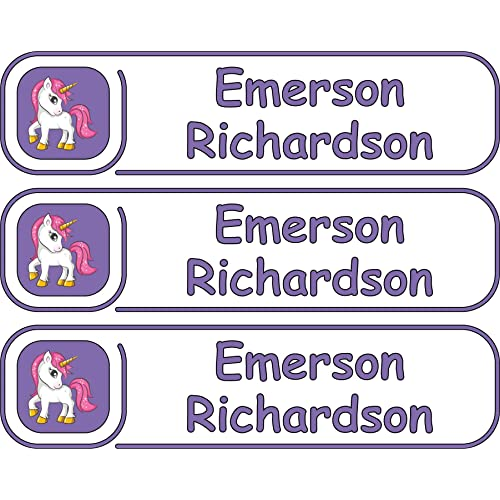 Camp Labels Multiple Colors And Sizes Waterproof Premium Custom Labels Microwave And Dishwasher Safe Multiple Names Daycare Labels High Quality Custom Name Labels Custom Name Labels