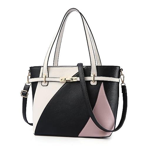 02d76de8e6fb Top Handle Bags for Women Leather Tote Purses Handbags Satchel Crossbody  Shoulder Bag form Nevenka