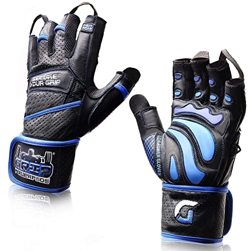 Perfect for Workout Exercise Training Fitness Weight Lifting Gloves Gym Gloves with Built-in Wrist Wraps Support and Anti-Slip Palm Innens Workout Gloves for Men and Women