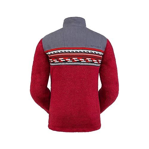 Half Snap Sweater Spyder Men/'s Wyre Fleece Jacket