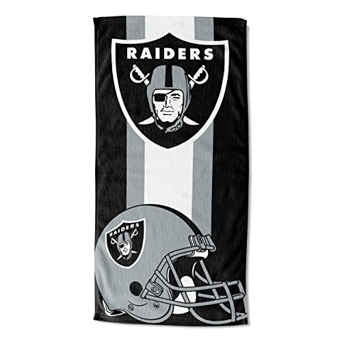 """Multi Color 34/"""" x 72/"""" Officially Licensed NFL Puzzle Beach Towel"""