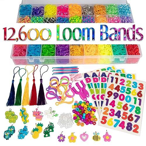 1pc 25cm Loom Band Rainbow Rubber Board /& Needle for Friendship Bracelet Making