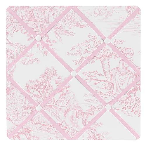Buy Pink French Toile Fabric Memory Memo Photo Bulletin Board By Sweet Jojo Designs Online In Oman B0046u986m