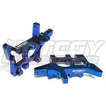 Integy RC Model Hop-ups T8641RED Billet Machined T3 Front Bulkhead for 1//10 Rustler 2WD Stampede 2WD /& Slash 2WD