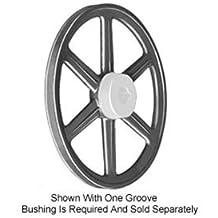 Cast Iron Browning 1P3V50 Split Taper Sheave 1 Groove Uses P1 Bushing 3V Belt
