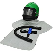COMPLETE AIR FED BLASTING HELMET NOVA 3  SYSTEM RBB SAFETY