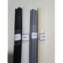uxcell/® PP Plastic Welding Rods,5mm Wide,2.5mm Thick,0.8 Meter,Welding Sticks,Polypropylene Welding Rod,for Plastic Welder Gun//Hot Air Gun,Green,10pcs