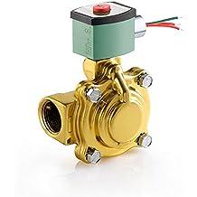 Nitrile Butylene Sealing 1//8 Pipe Size 2-Way Normally Closed 480V//60 Hz ASCO 8262H002-480//60,440//50 Brass Body Direct Acting General Service Solenoid Valve 440V//50 Hz 1//8 Orifice 0.35 Cv Flow